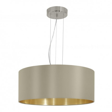 Luminaire EGLO moderne or|gris