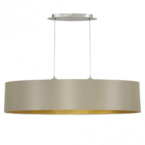 Luminaire EGLO moderne or métallique