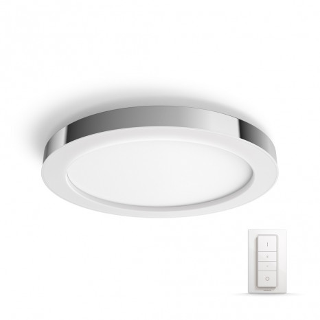 Luminaire Philips Hue moderne chrome