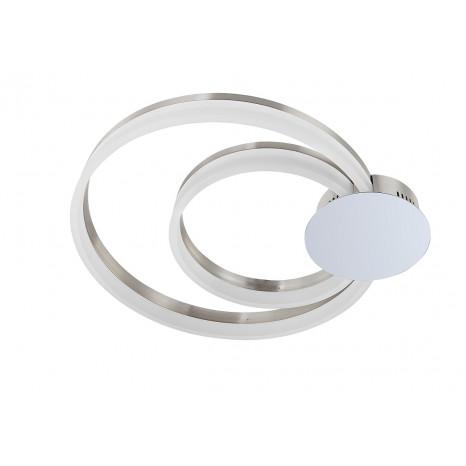 Luminaire Wofi moderne chrome|métallique