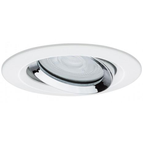 Luminaire Paulmann moderne chrome blanche