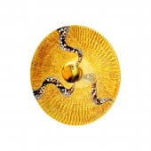 Luna WL, 24 Karat Gold, Glas, E27