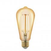 Luminaire EGLO moderne or|transparent