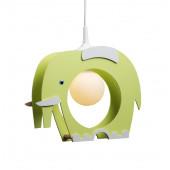 Luminaire Elobra fantaisie vert|blanche