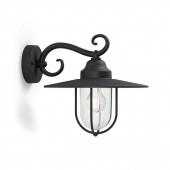 Luminaire Philips classique noire|transparent