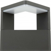 Bonita Breite 17 cm schwarz 1-flammig eckig