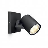 Luminaire Philips Hue moderne noire