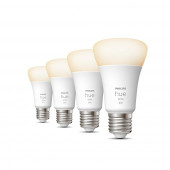 White E27 Viererpack 4x800lm 60W