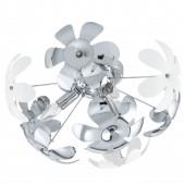 Camile Ø 51,5 cm weiß 3-flammig rund