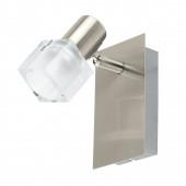 Luminaire EGLO moderne métallique transparent