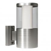 Luminaire EGLO moderne métallique|transparent|blanche