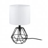 Luminaire EGLO moderne noire blanche