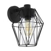 Luminaire EGLO vintage noire