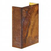 Fold 10 Höhe 14,9 braun 2-flammig rechteckig