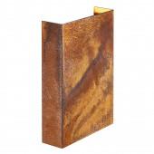 Fold 15 Höhe 21 cm rostfarben 2-flammig rechteckig