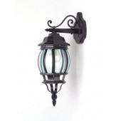 Luminaire Brilliant rustique noire|transparent
