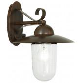 Luminaire EGLO moderne marron blanche