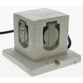 Luminaire Heitronic  gris