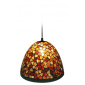 Luminaire Näve tiffany  marron|multicolore|orange|rouge|noire