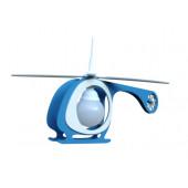 Luminaire Elobra moderne bleu blanche