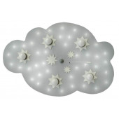 étoile nuage LED 5/40 argent