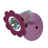 Luminaire Elobra moderne rose