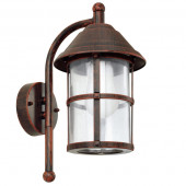 Luminaire EGLO rustique marron