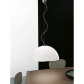 Luminaire Vistosi moderne chrome|blanche