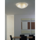 Luminaire Vistosi moderne or|transparent