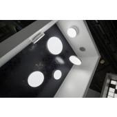 Luminaire Schmitz Leuchten moderne gris|blanche