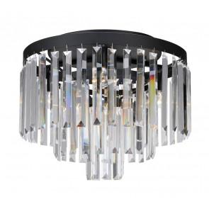 Luminaire Markslöjd démodé noire|transparent