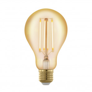 Luminaire EGLO moderne or transparent