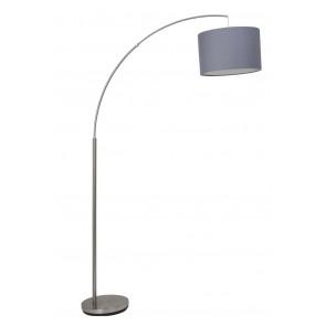 Luminaire Brilliant moderne chrome|gris|transparent
