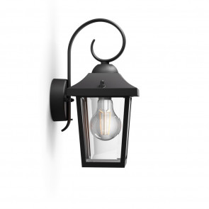 Luminaire Philips classique noire