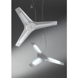 Luminaire Luceplan moderne transparent