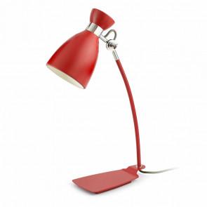 Luminaire Faro démodé rouge
