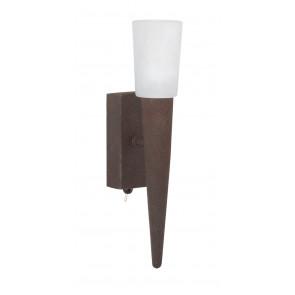 Luminaire Trio maison decampagne marron|couleur rouille|blanche
