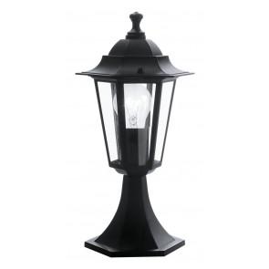 Luminaire EGLO maison decampagne noire|transparent