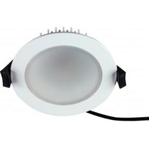 LED EINBAUSTRAHLER 13W IP54 RUND WEISS