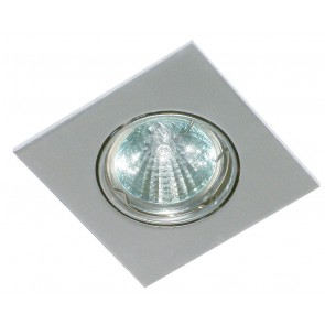 GU5,3, aluminium Druckguss, articulable, chrome-mat