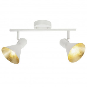 Luminaire Brilliant moderne or|blanche
