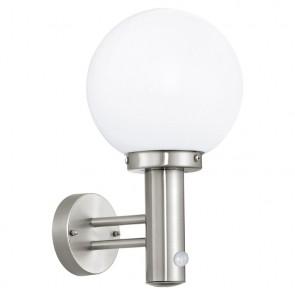 Nisia, hauteur 34,3 cm, détecteur de mouvement, verre blanc