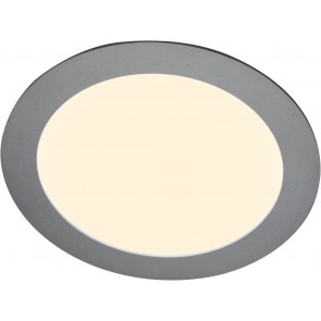 LED Panel, diamètre 14,5 cm, 8W, dimmable, blanc chaud
