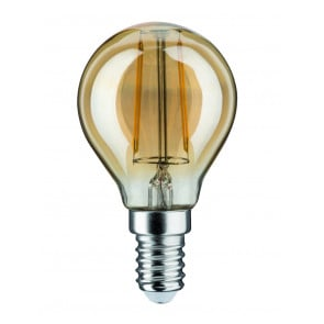 LED Tropfen, E14, 2,5W, 220lm, 2500K, gold