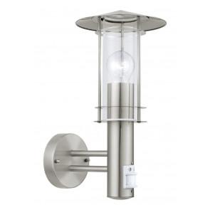 Luminaire EGLO moderne métallique|argent|transparent