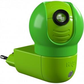 Mondbären, LED, mit Sensor, drehbar, grün