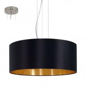 Maserlo, noir, or, 53 cm