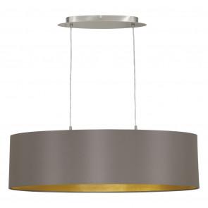 Luminaire EGLO moderne or|gris|métallique