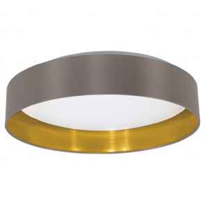 Luminaire EGLO moderne or|gris|blanche