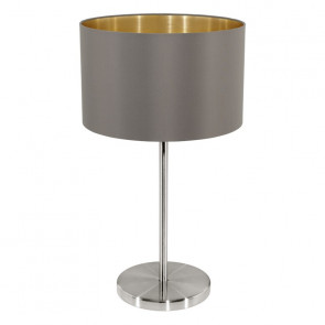Luminaire EGLO moderne marron|or|gris